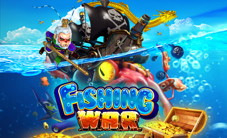 Fishing War, The Most Fun Online Fish Shooting game